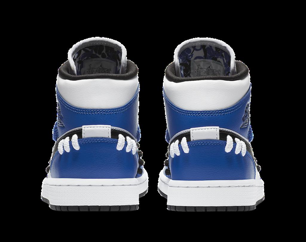 ナイキ エア ジョーダン 1 ミッド シスターフッド ゲーム ロイヤル Nike Air Jordan 1 Mid SE Sisterhood Game Royal CV0152-401 back