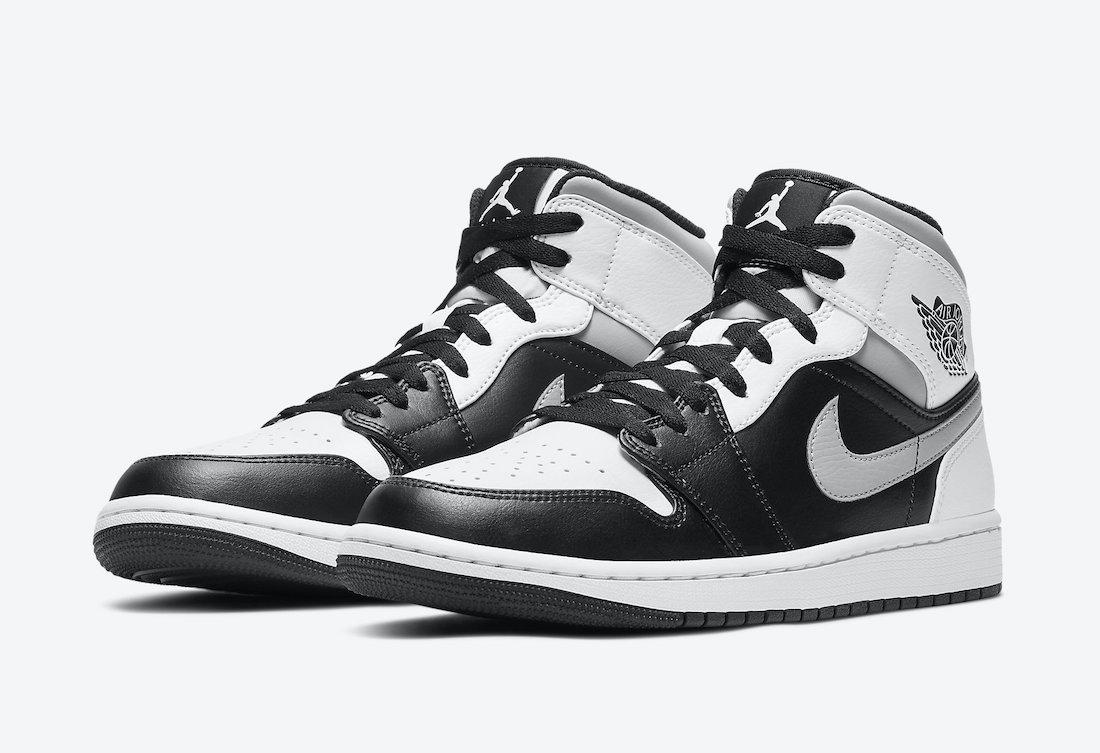 ナイキ エアジョーダン 1 ミッド ホワイト シャドウ Nike Air Jordan 1 Mid White Shadow 554724-073 main front