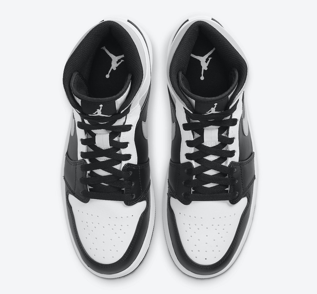 ナイキ エアジョーダン 1 ミッド ホワイト シャドウ Nike Air Jordan 1 Mid White Shadow 554724-073 top