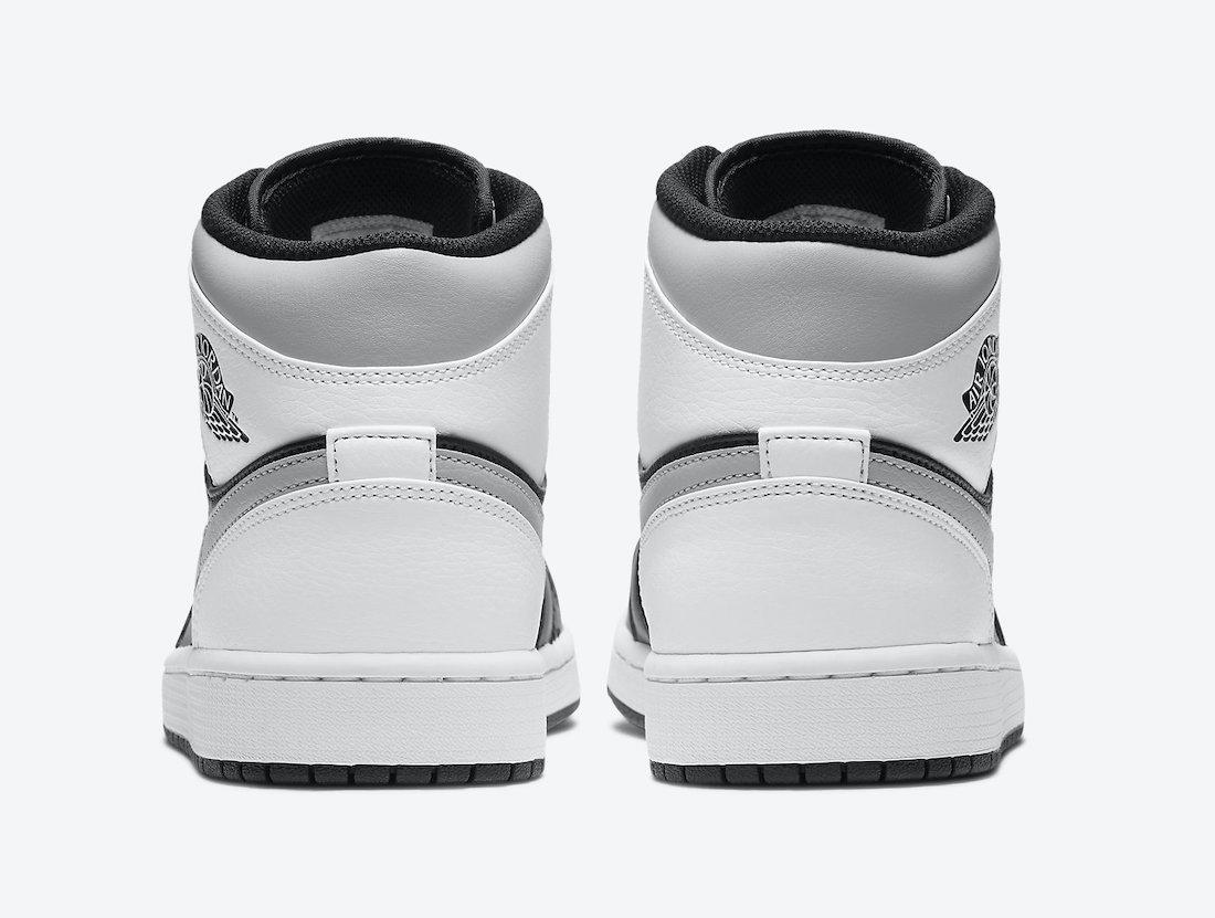 ナイキ エアジョーダン 1 ミッド ホワイト シャドウ Nike Air Jordan 1 Mid White Shadow 554724-073 back