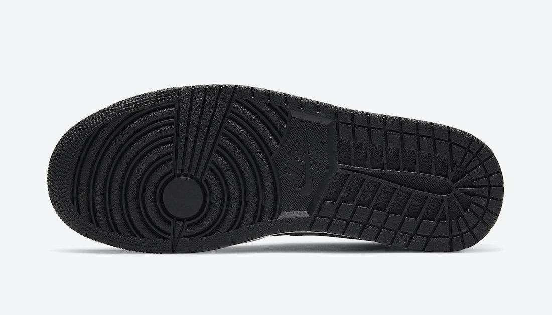 ナイキ エアジョーダン 1 ミッド ホワイト シャドウ Nike Air Jordan 1 Mid White Shadow 554724-073 sole