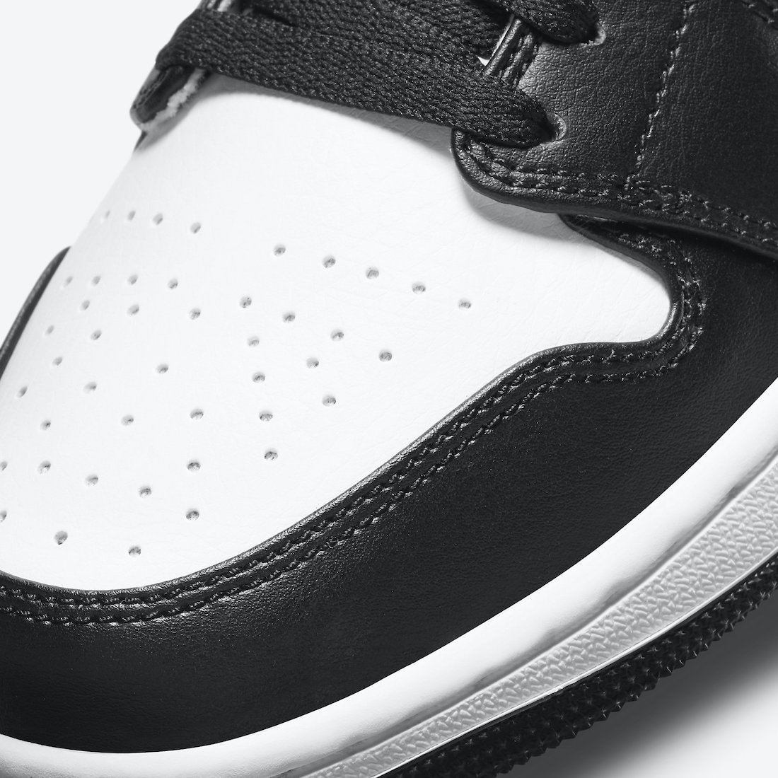 ナイキ エアジョーダン 1 ミッド ホワイト シャドウ Nike Air Jordan 1 Mid White Shadow 554724-073 close toe