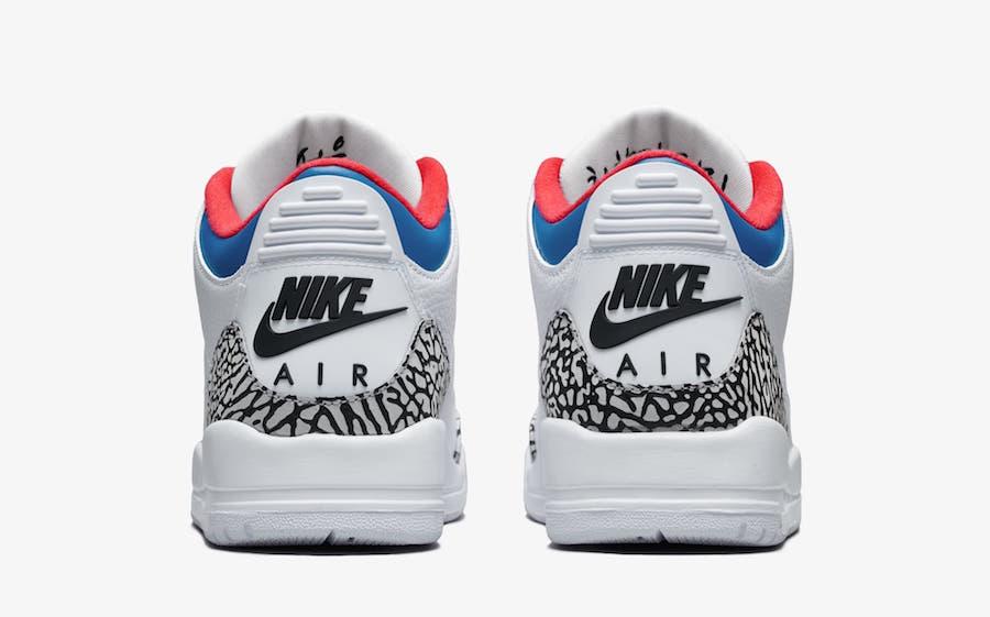 Nike Air Jordan 3 Seoul Korea WMNS AV8370-100 ナイキ エア ジョーダン 3 コリア ソウル heel