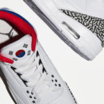 Nike Air Jordan 3 Seoul Korea WMNS AV8370-100 ナイキ エア ジョーダン 3 コリア ソウル official image shoes pair