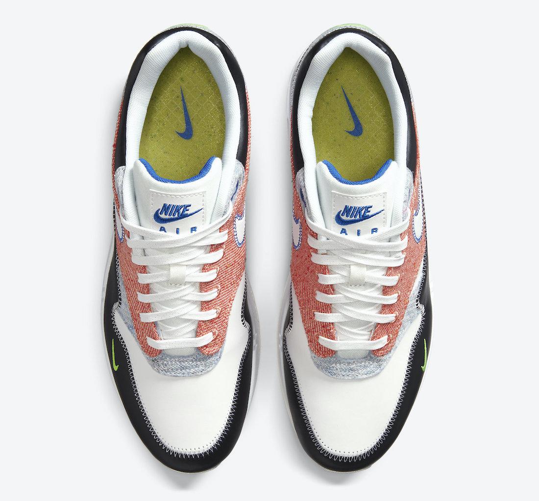 ナイキ エア マックス 1 リサイクルド パック Nike Air Max 1 NRG Rcycled Pack CT1643-100 top