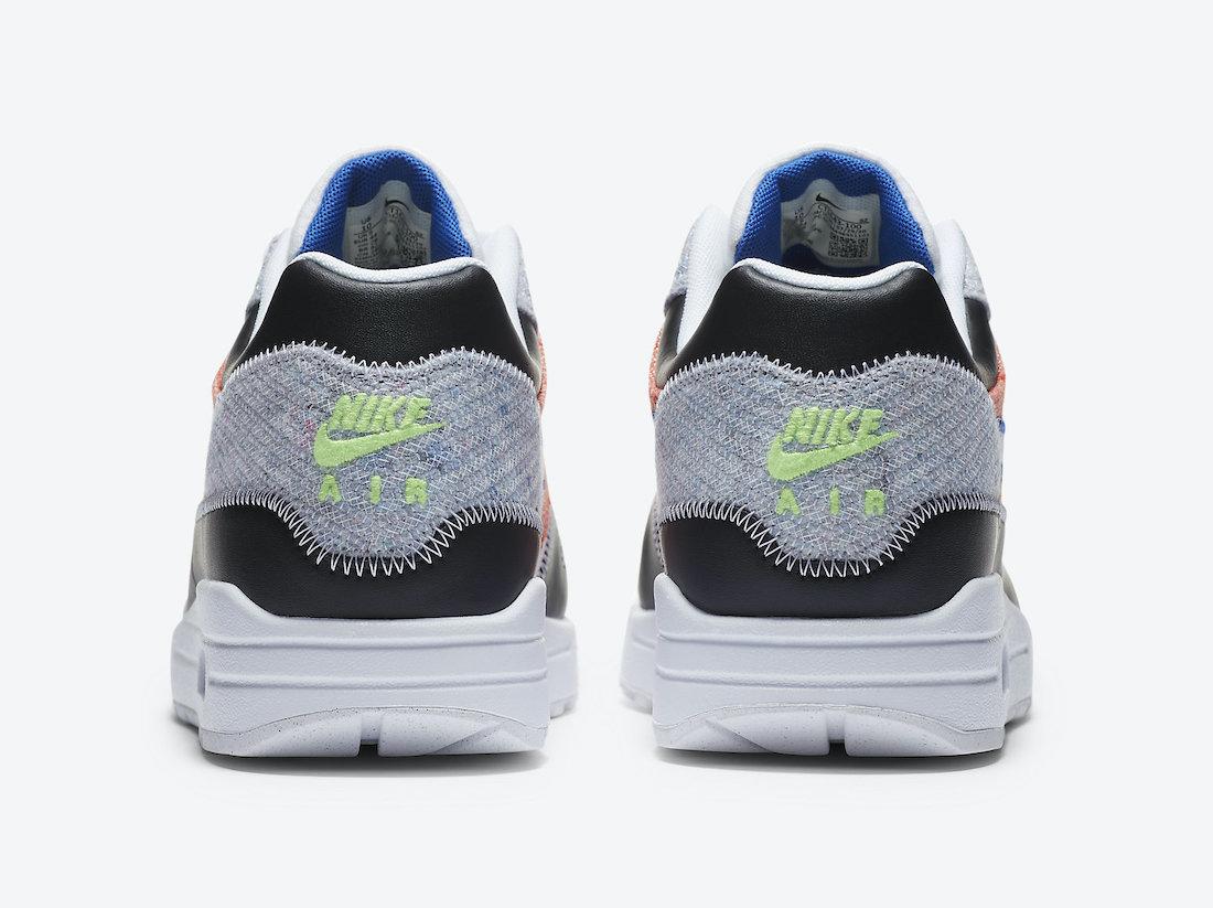 ナイキ エア マックス 1 リサイクルド パック Nike Air Max 1 NRG Rcycled Pack CT1643-100 back