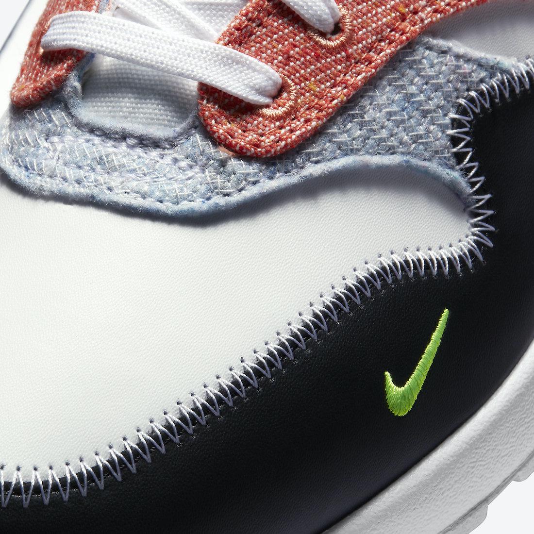 ナイキ エア マックス 1 リサイクルド パック Nike Air Max 1 NRG Rcycled Pack CT1643-100 toe