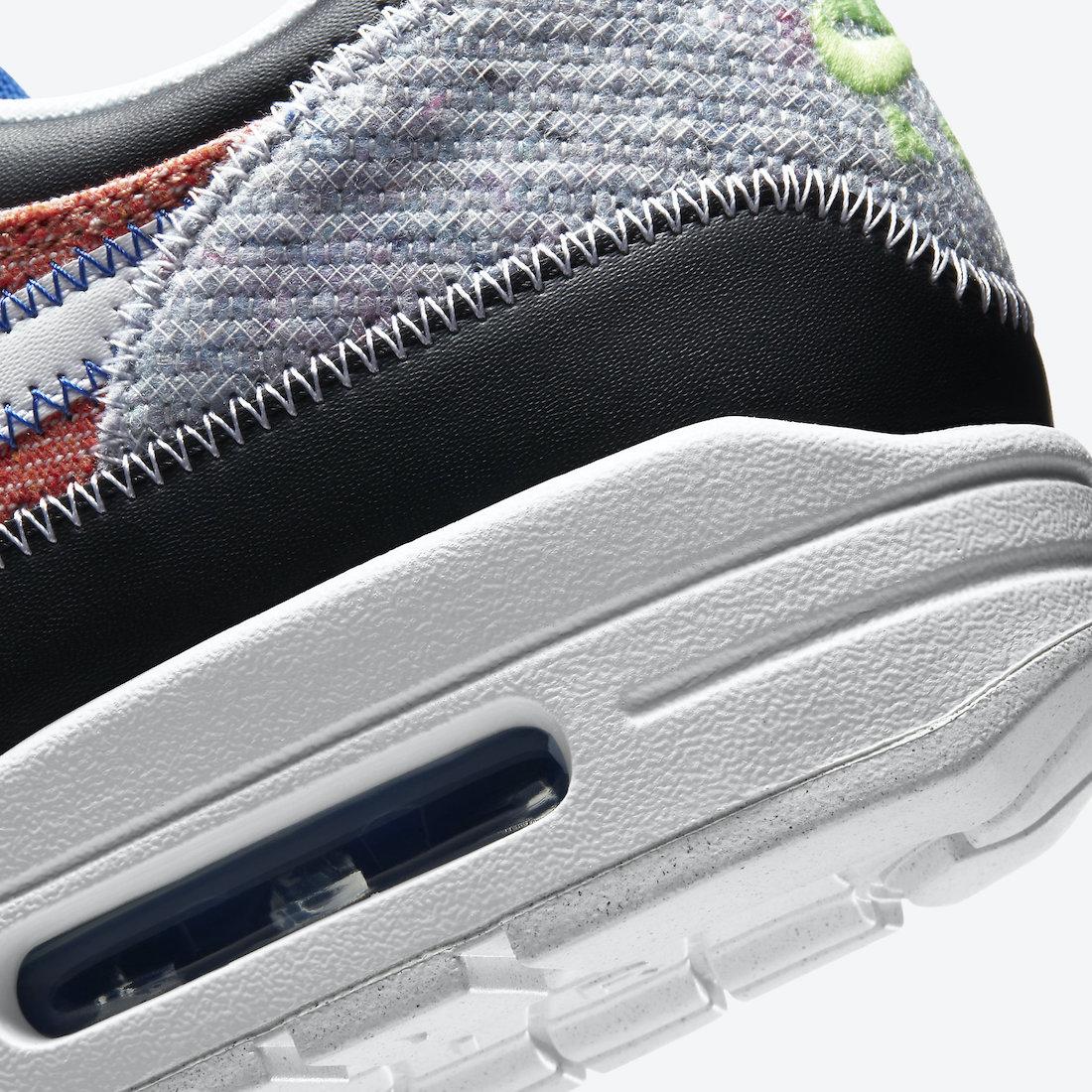ナイキ エア マックス 1 リサイクルド パック Nike Air Max 1 NRG Rcycled Pack CT1643-100 heel