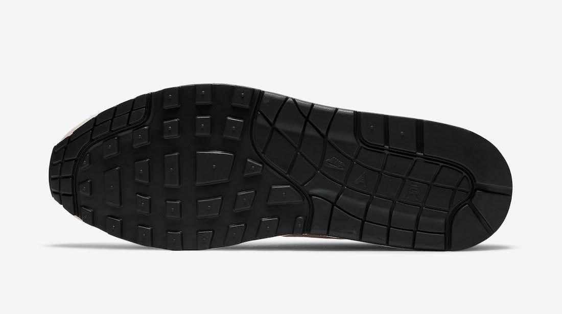 """ナイキ エア マックス 1 """"ストロベリーレモネード""""Nike-Air-Max-1-Strawberry-Lemonade-CJ0609-600-sole"""