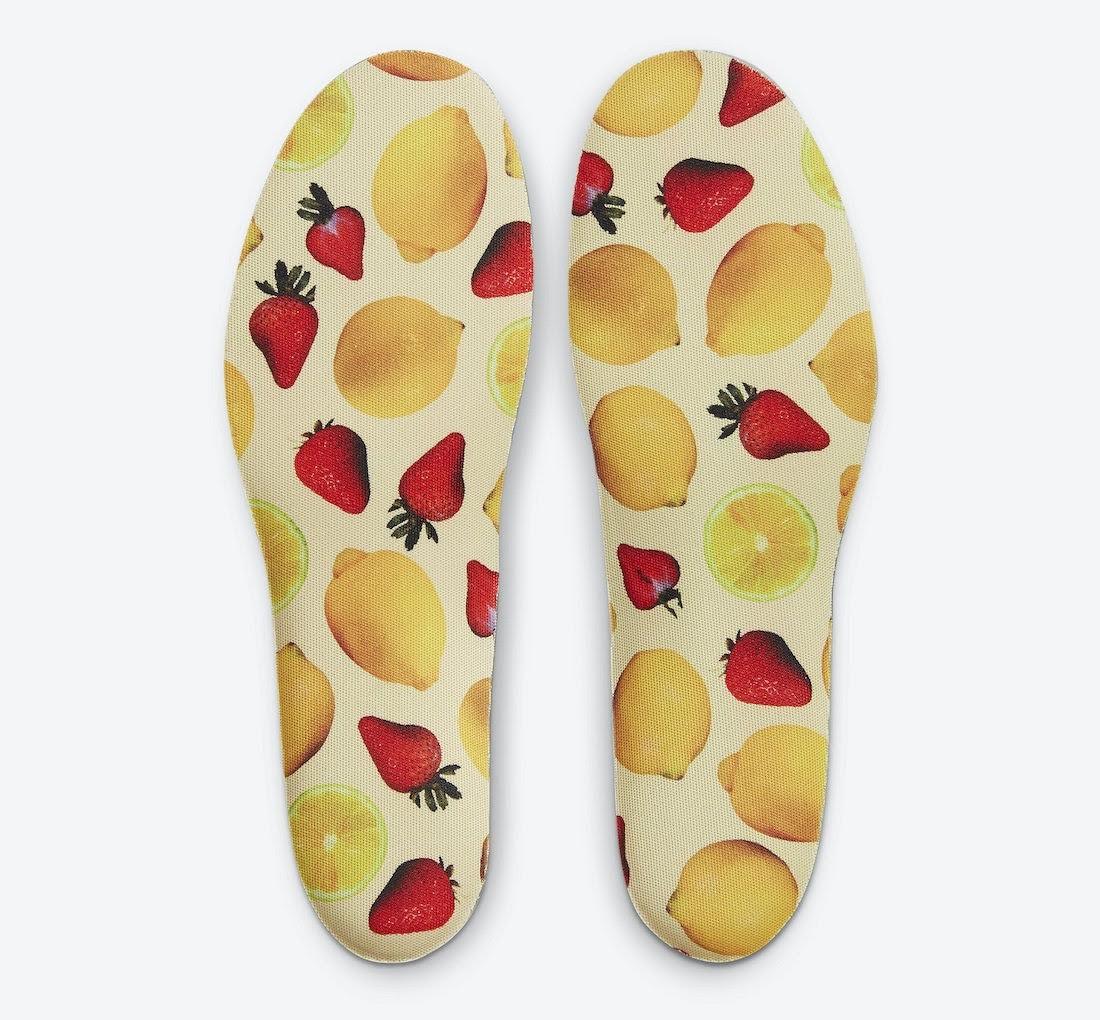 """ナイキ エア マックス 1 """"ストロベリーレモネード""""Nike-Air-Max-1-Strawberry-Lemonade-CJ0609-600-insole"""