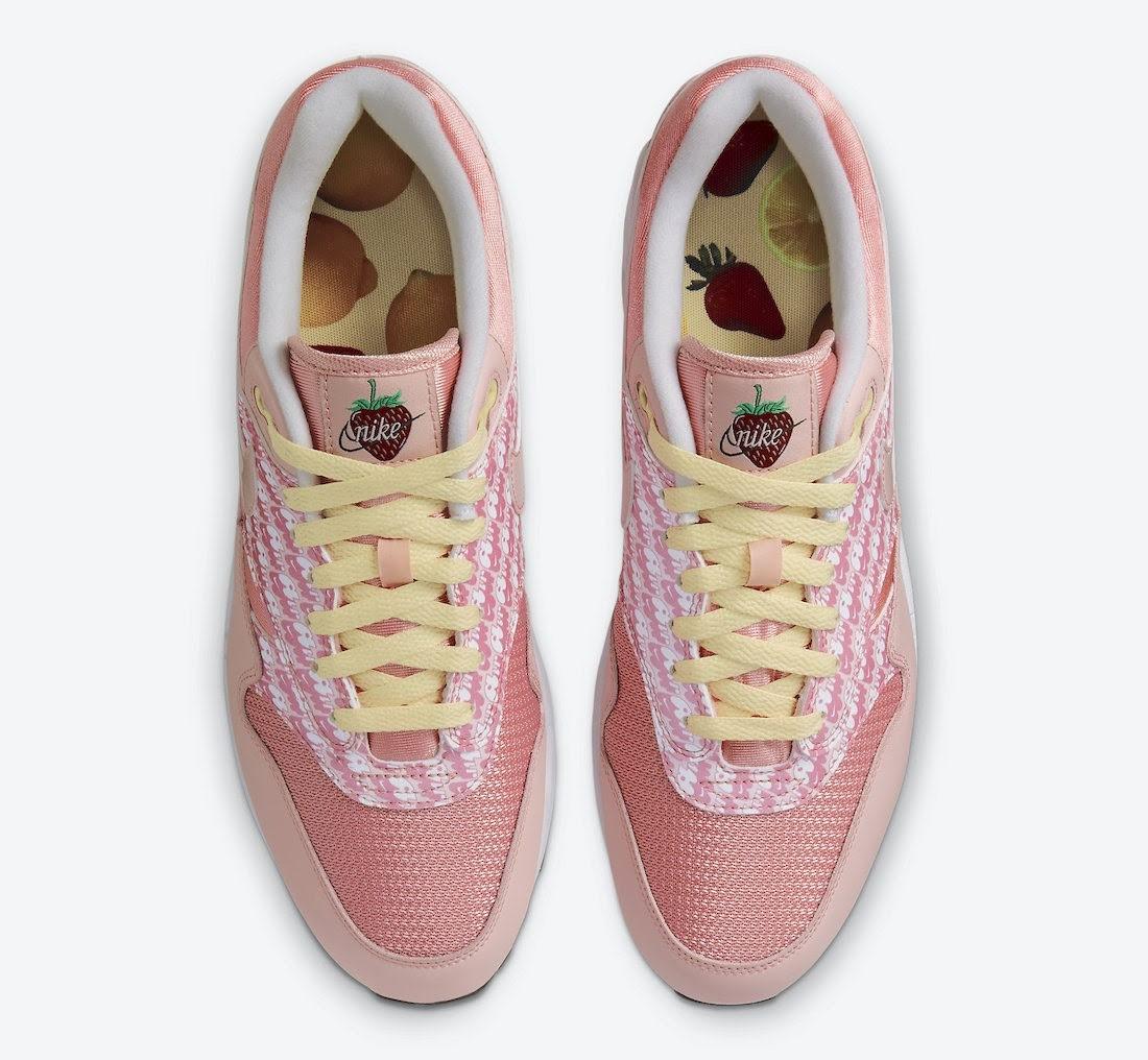 """ナイキ エア マックス 1 """"ストロベリーレモネード""""Nike-Air-Max-1-Strawberry-Lemonade-CJ0609-600-top"""