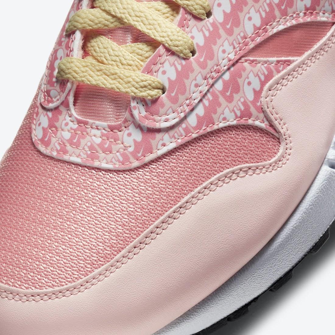 """ナイキ エア マックス 1 """"ストロベリーレモネード""""Nike-Air-Max-1-Strawberry-Lemonade-CJ0609-600-toe-closeup"""