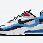 ナイキ シューメーカー パック Nike-Air-Max-270-React-White-Photo-Blue-University-Red-DA2400-100-side