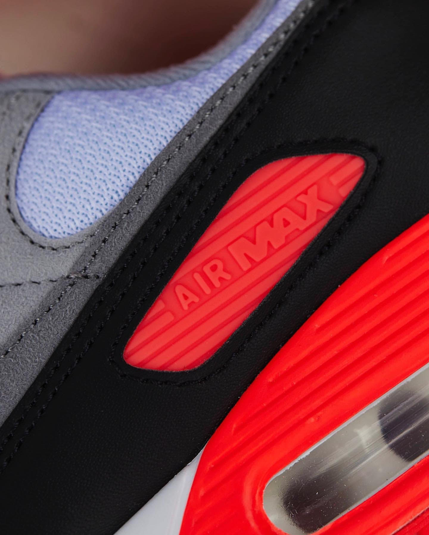 ナイキ エア マックス 90 インフラレッド Nike Air Max 90 Infrared CT1685-100 atmos sole unit