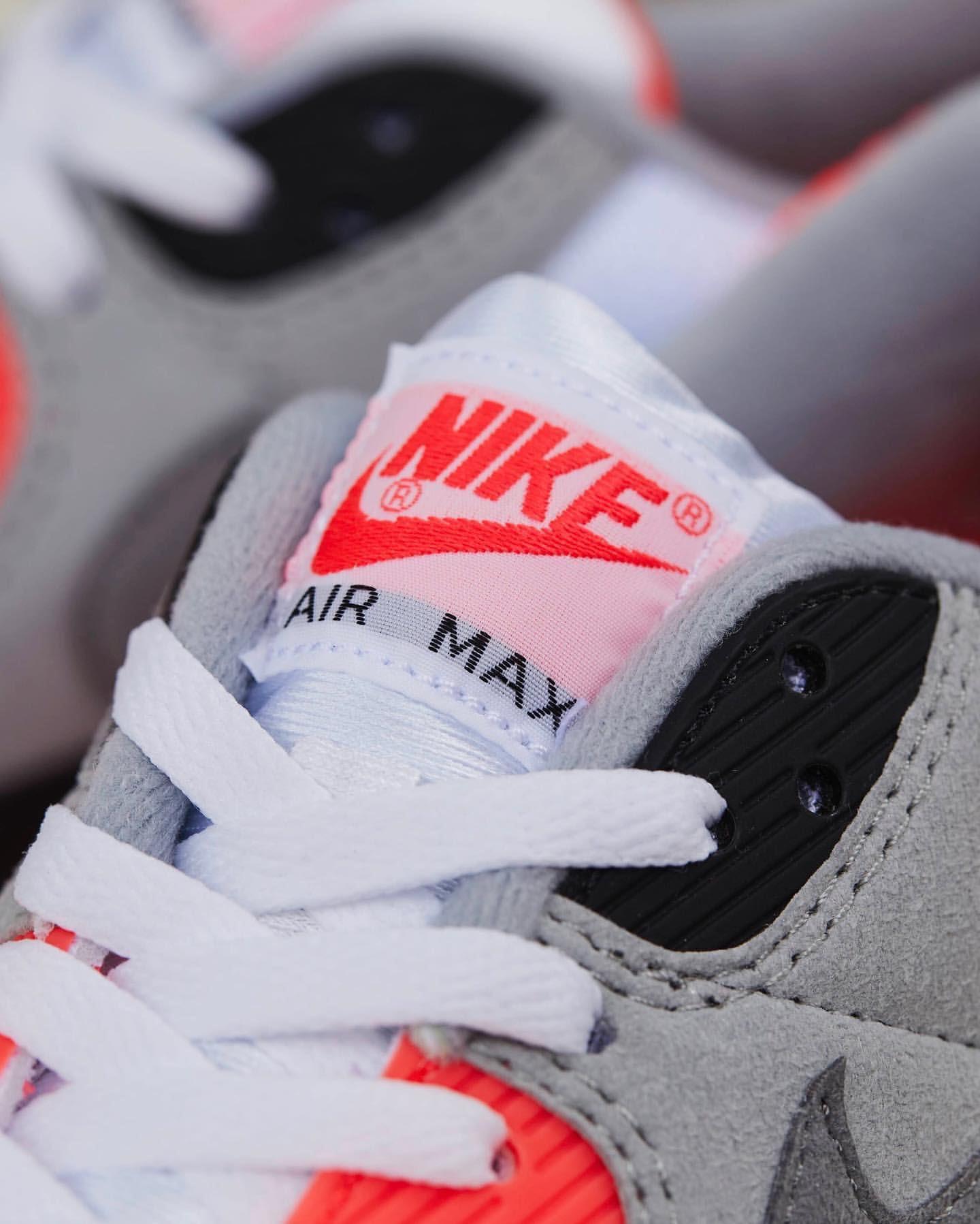 ナイキ エア マックス 90 インフラレッド Nike Air Max 90 Infrared CT1685-100 atmos tan