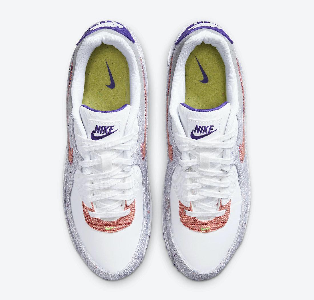 ナイキ エア マックス 90 コート パープル Nike Air Max 90 NRG White Electric Green Court Purple CT1684-100 top