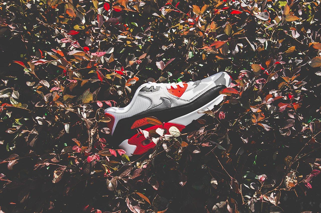 ナイキ エア マックス 90 インフラレッド Nike Air Max 90 Infrared CT1685-100 abp