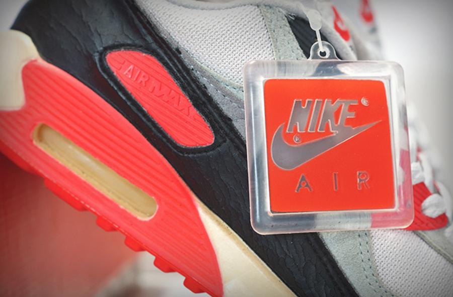 ナイキ エア マックス 90 インフラレッド Nike Air Max 90 Infrared CT1685-100 original charm