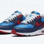 ナイキ シューメーカー パック Nike-Air-Max-90-Photo-Blue-University-Red-CT1687-400-pair