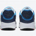 ナイキ シューメーカー パック Nike-Air-Max-90-Photo-Blue-University-Red-CT1687-400-heel