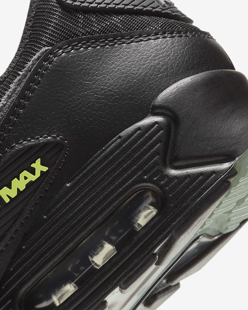 ナイキ エア マックス 90 スパイダー ウェブ Nike-Air-Max-90-spider-Web-heel-closeup