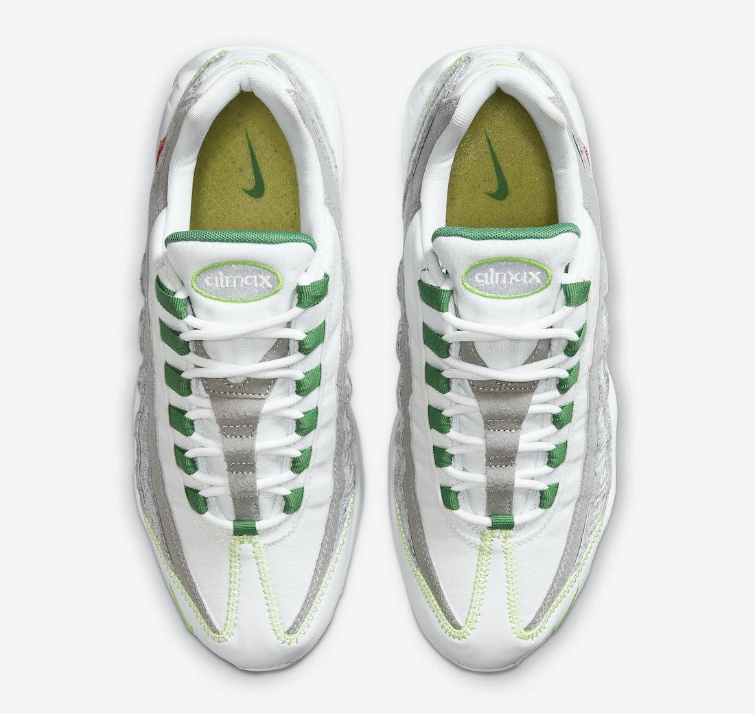 ナイキ エア マックス 95 クラシック グリーン Nike Air Max 95 NRG White Classic Green Electric Green CU5517-100 top