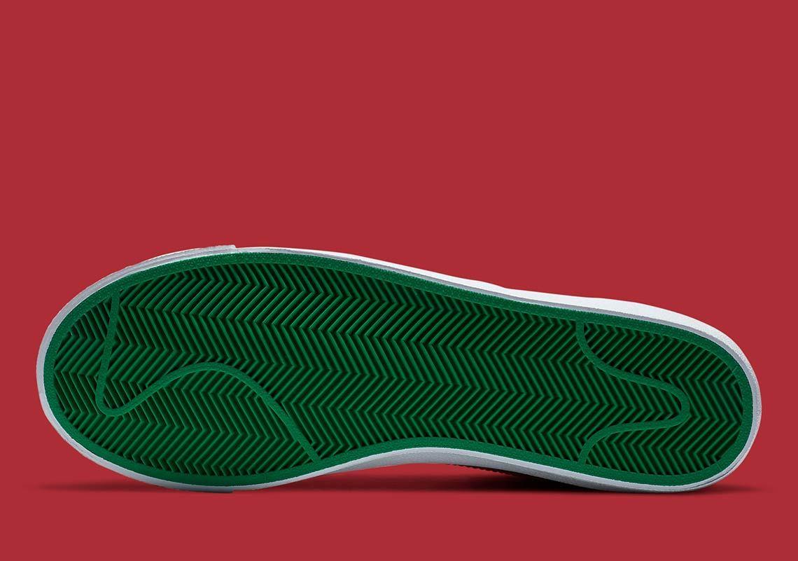 Nike Blazer Mid Christmas 2020 DC1619-300 ナイキ ブレーザー ミッド クリスマス 2020年 sole