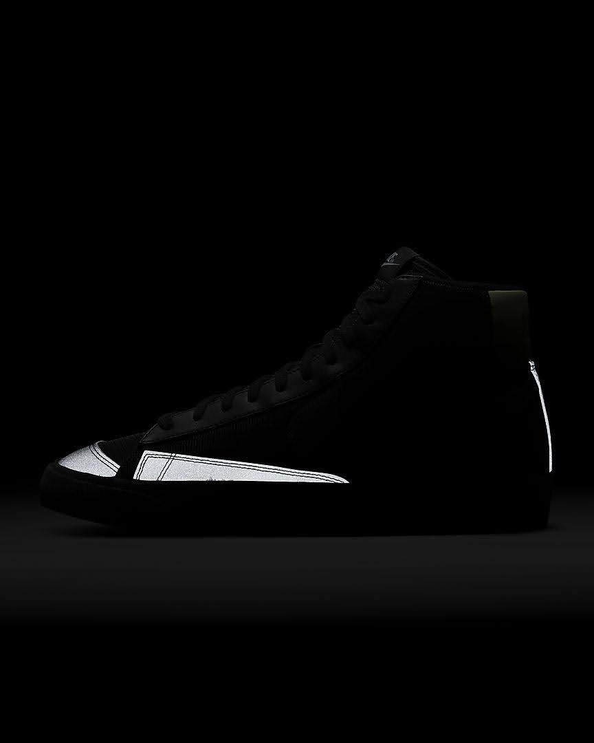 ナイキ ブレーザー ミッド スパイダー ウェブ Nike-Blazer-Mid-spider-Web-heel-glow-side