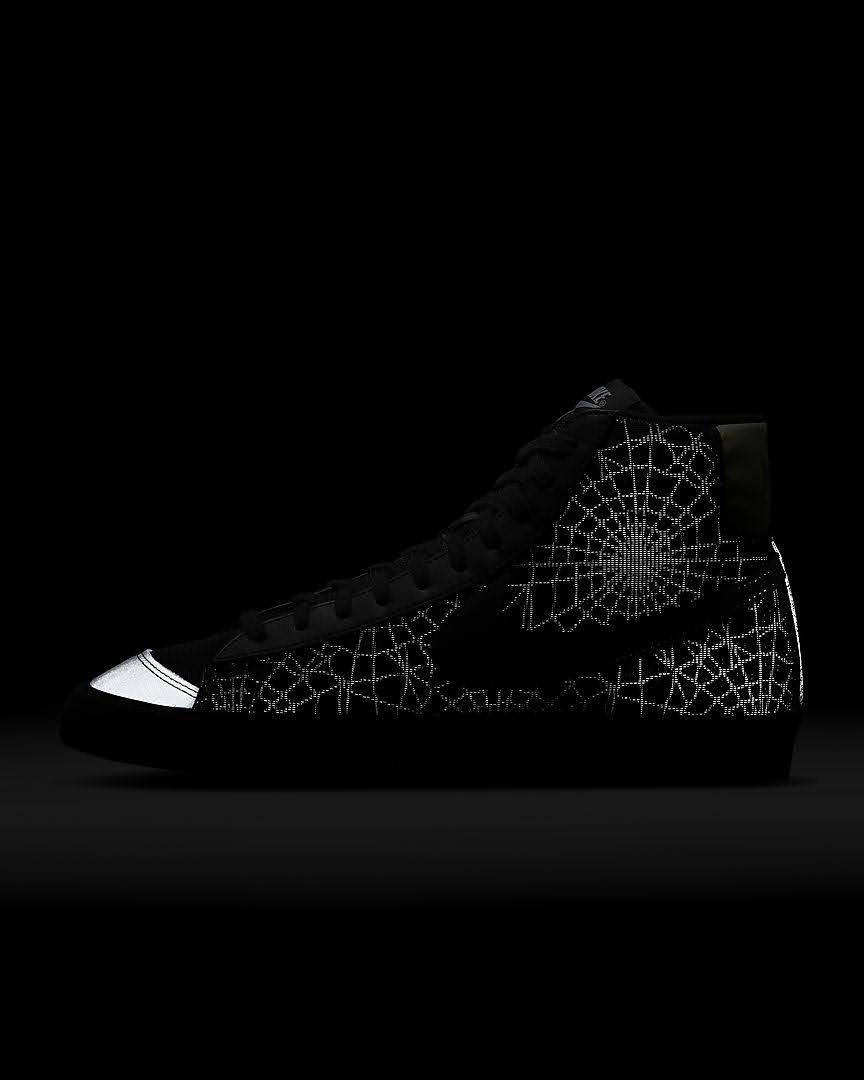 ナイキ ブレーザー ミッド スパイダー ウェブ Nike-Blazer-Mid-spider-Web-heel-glow-side2