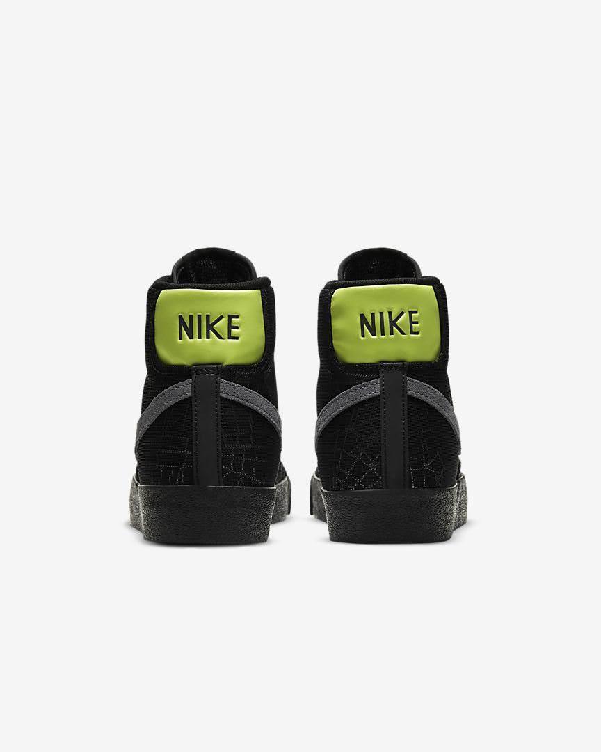 ナイキ ブレーザー ミッド スパイダー ウェブ Nike-Blazer-Mid-spider-Web-heel