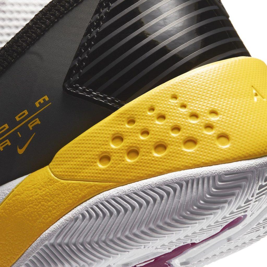 ナイキ ジョーダン ズーム 92 ウィメンズ カクタス フラワー Nike Jordan Zoom 92 WMNS Cactus Flower CK9184-105 close heel