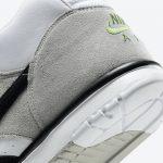 ナイキ SB エアー トレイナー 1 クロロフィル Nike-SB-Air-Trainer-1-Chlorophyll-CW8604-001-heel-closeup
