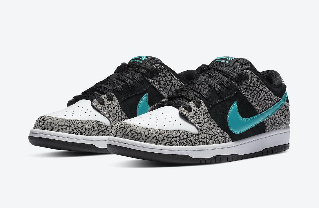 ナイキ SB ダンク ロー エレファント Nike SB Dunk Low Elephant BQ6817-009 main pair