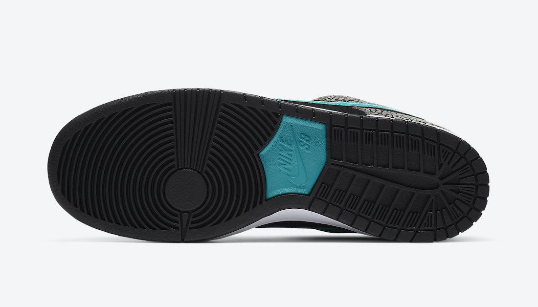 ナイキ SB ダンク ロー エレファント Nike SB Dunk Low Elephant BQ6817-009 sole