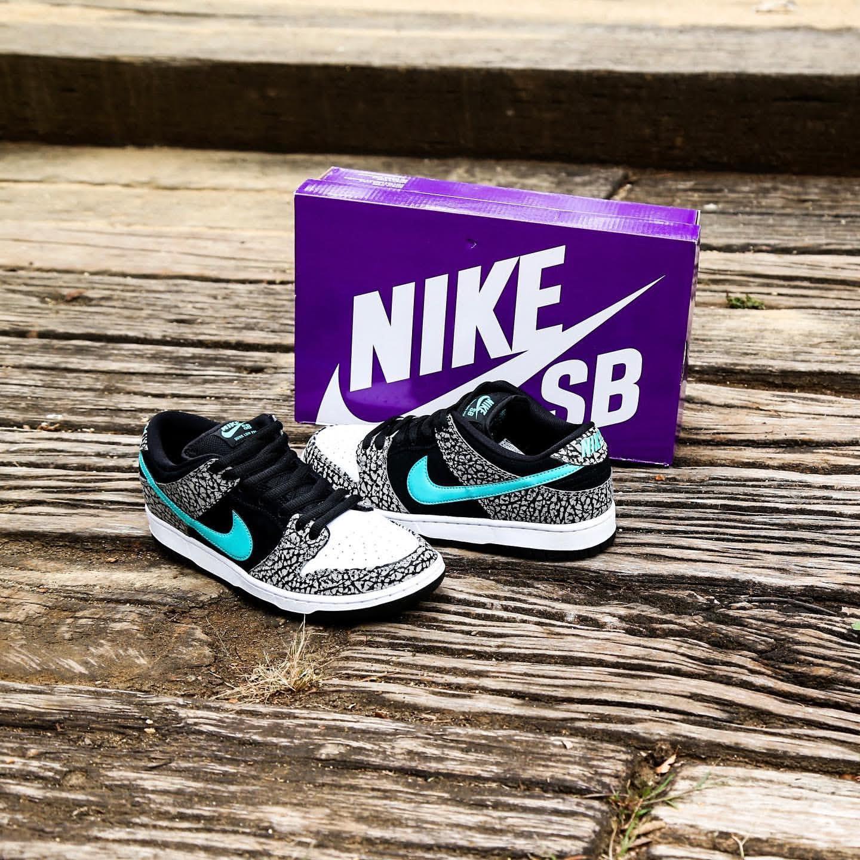 ナイキ SB ダンク ロー エレファント Nike SB Dunk Low Elephant BQ6817-009 atmos box