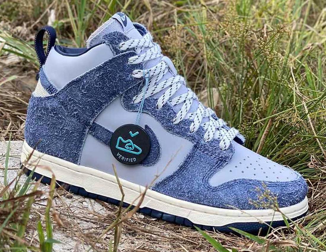 ノートル ナイキ ダンク ハイ Notre Nike Dunk High 2 colors blue