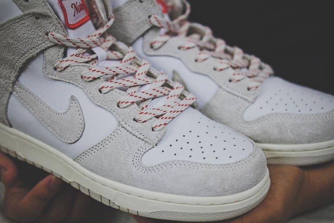 """ノートル × ナイキ ダンク ハイ """"ライト オアウッド ブラウン"""" Notre-Nike-Dunk-High-Light-Orewood-Brown-pair2"""