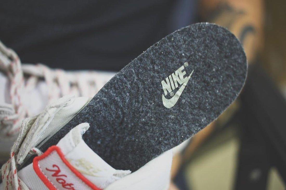 """ノートル × ナイキ ダンク ハイ """"ライト オアウッド ブラウン"""" Notre-Nike-Dunk-High-Light-Orewood-Brown-insole"""