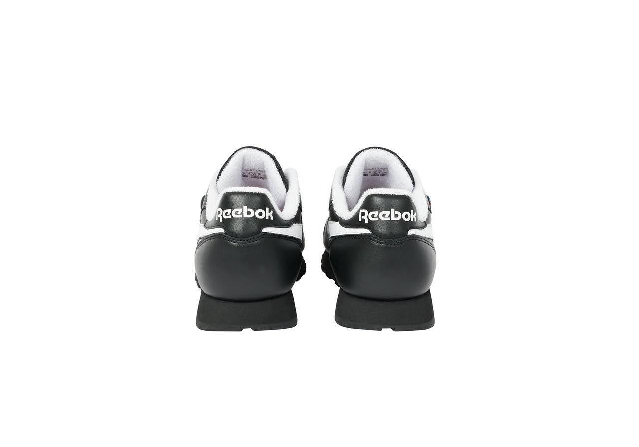 パレス スケートボード × リーボック クラシック レザー ポンプ / ブラック Palace-Winter-Reebok-pump-black-pair-back