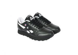 パレス スケートボード × リーボック クラシック レザー ポンプ / ブラック Palace-Winter-Reebok-pump-black-pair