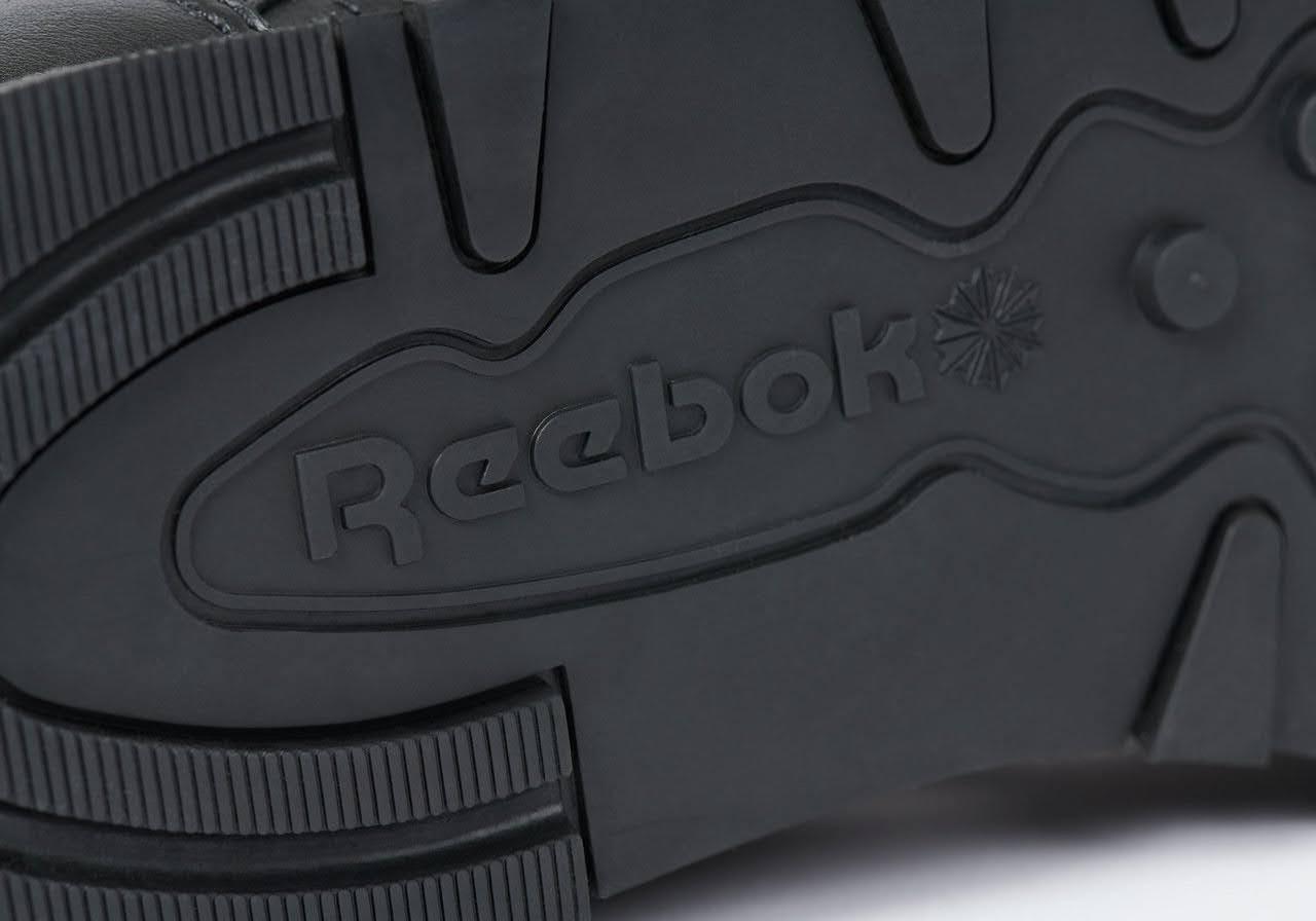 パレス スケートボード × リーボック クラシック レザー ポンプ / ブラック Palace-Winter-Reebok-pump-black-sole-closeup