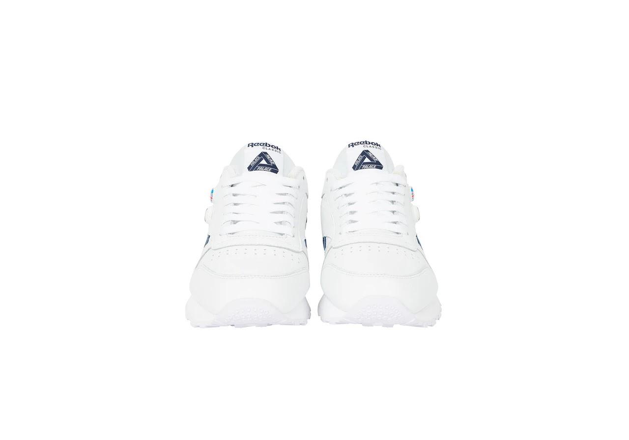 パレス スケートボード × リーボック クラシック レザー ポンプ / ホワイト Palace-Winter-Reebok-pump-white-pair-front