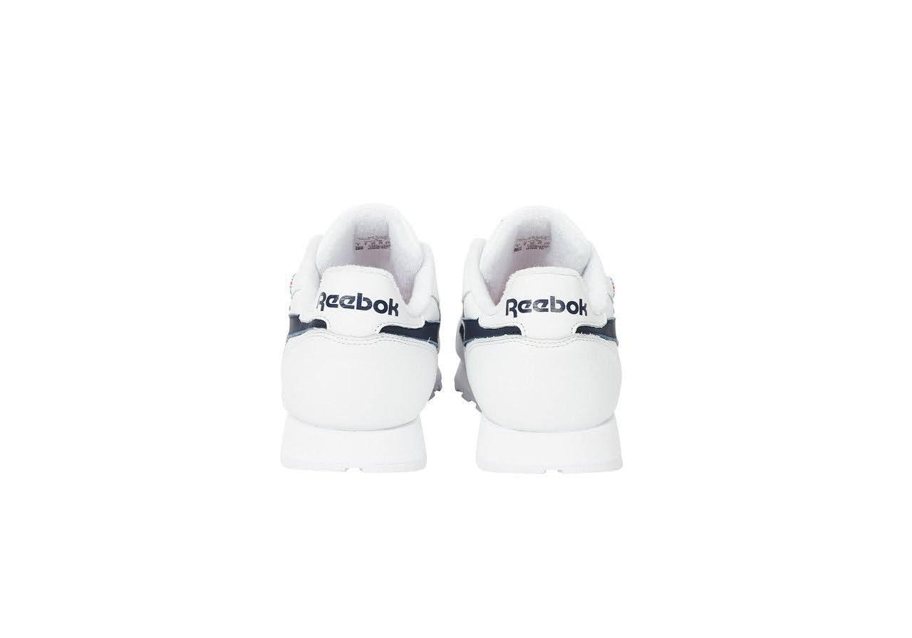 パレス スケートボード × リーボック クラシック レザー ポンプ / ホワイト Palace-Winter-Reebok-pump-white-pair-back