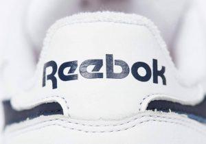 パレス スケートボード × リーボック クラシック レザー ポンプ / ホワイト Palace-Winter-Reebok-pump-white-heel-logo-closeup