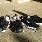 リーボック ヨシオクボ コラボ クラブ C 85 インスタポンプフューリー スニーカー Reebok × yoshiokubo Club C 85 Instapump Fury sneaker product front