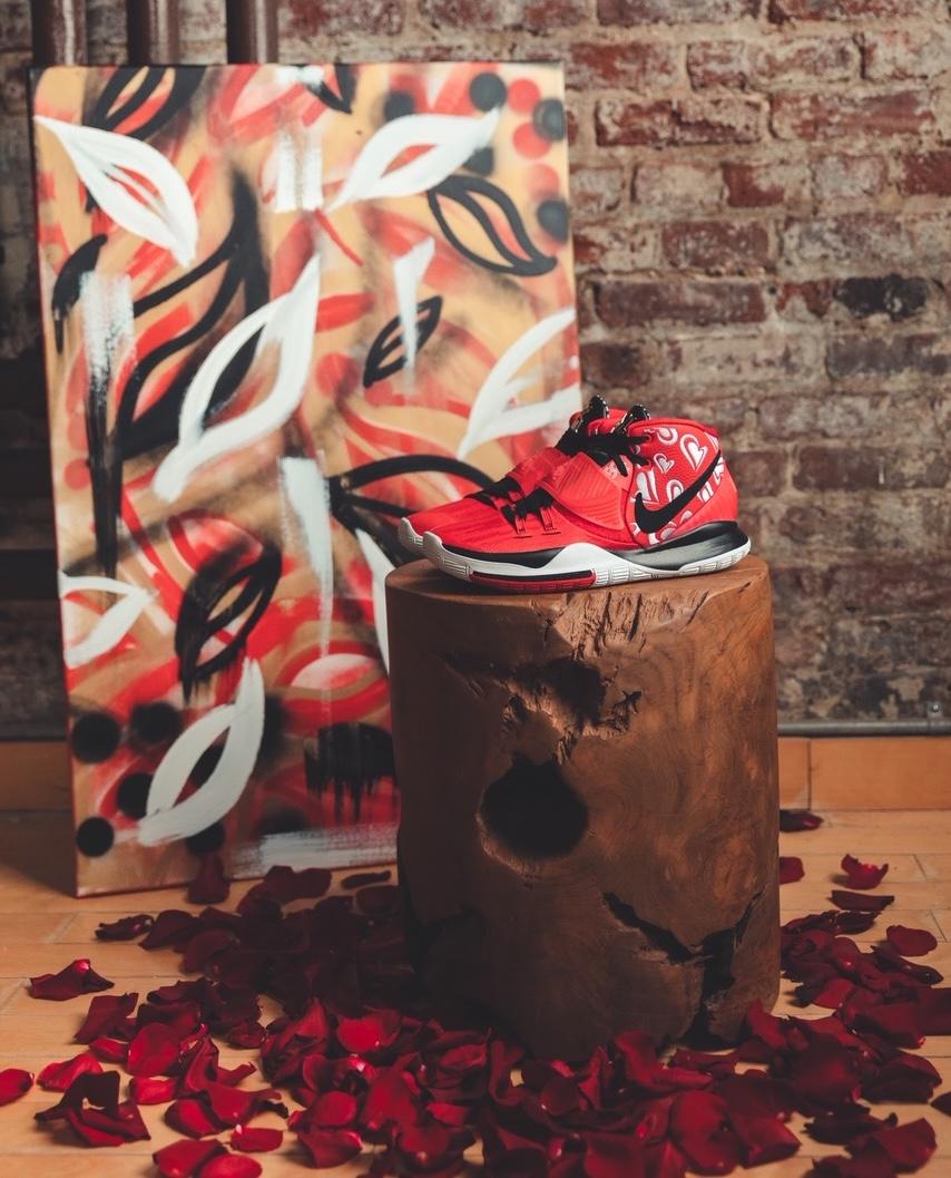 Sneaker Room Nike Kyrie 6 Mom スニーカー ルーム ナイキ コラボ 6 マム image side red