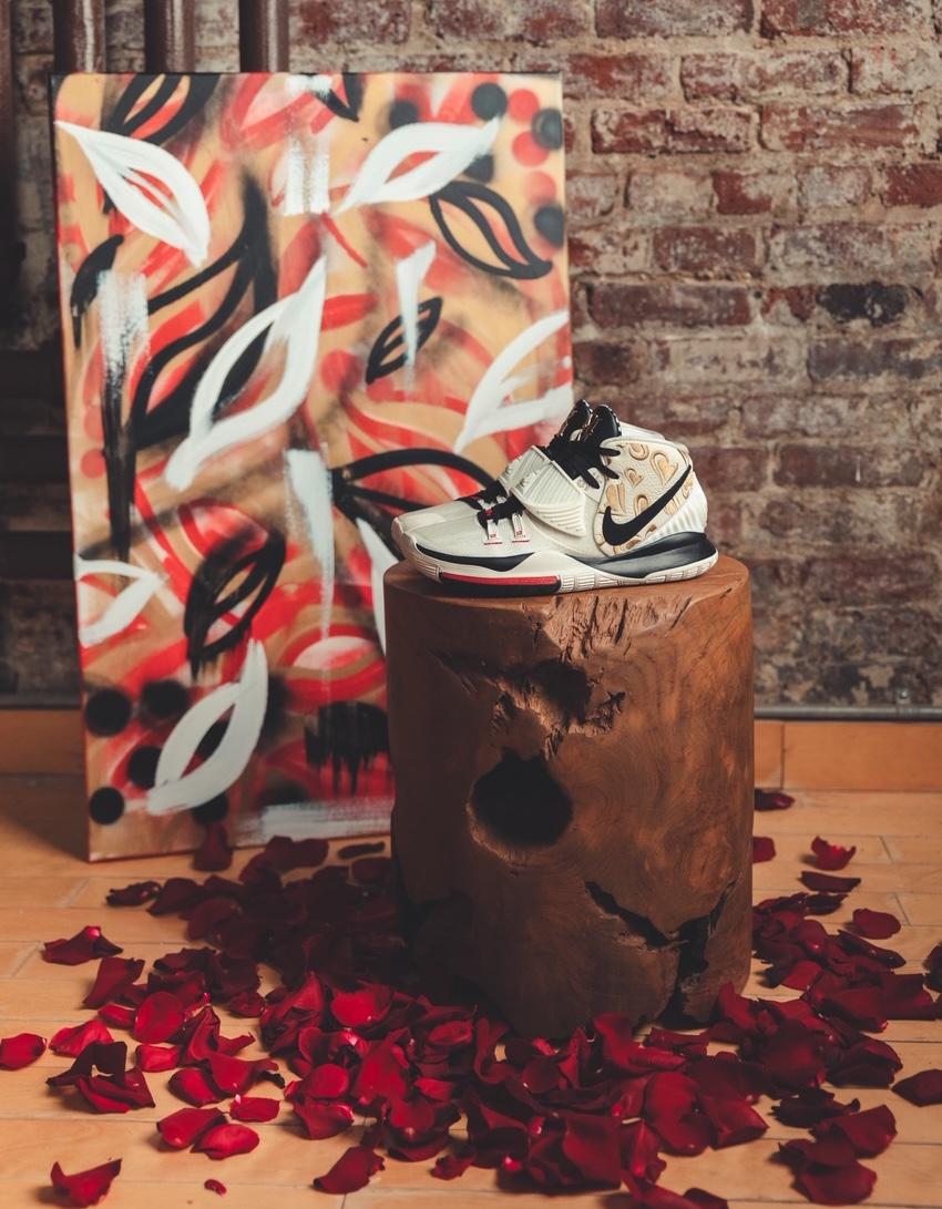 Sneaker Room Nike Kyrie 6 Mom スニーカー ルーム ナイキ コラボ 6 マム image side white
