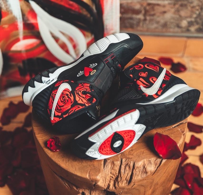 Sneaker Room Nike Kyrie 6 Mom スニーカー ルーム ナイキ コラボ 6 マム image black side design