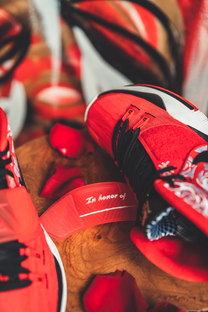 Sneaker Room Nike Kyrie 6 Mom スニーカー ルーム ナイキ コラボ 6 マム image red message
