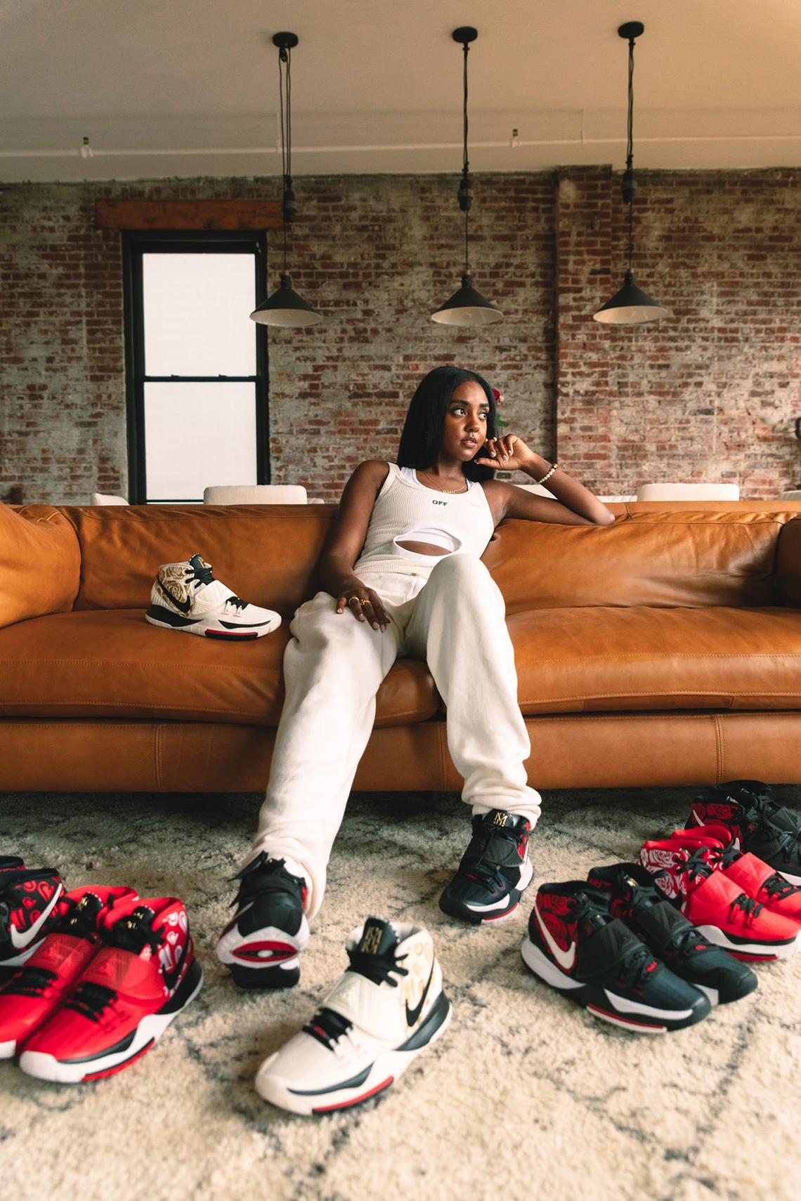 Sneaker Room Nike Kyrie 6 Mom スニーカー ルーム ナイキ コラボ 6 マム image model